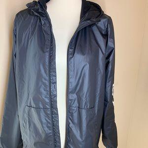adidas Jackets & Coats - {Adidas} Zip-Up Hooded Windbreaker